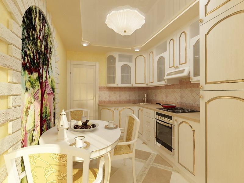 Реальные кухни дизайн