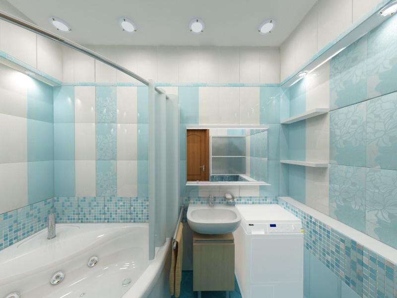 Ванные комнаты реальные фото