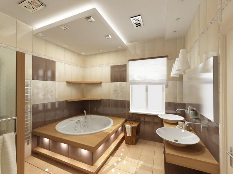 Дизайн ванной комнаты на 6 кв.м